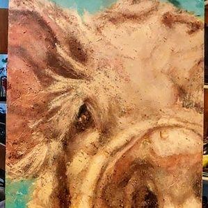 Acrylic/mixed media on canvas